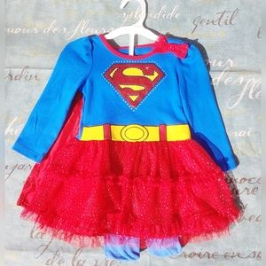 DC Comic's Supergirl kids costume